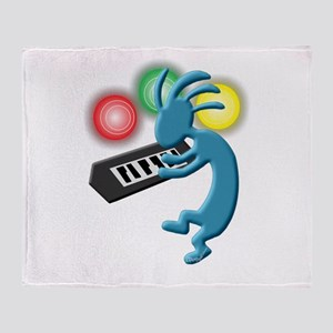 Keyboardist Throw Blanket