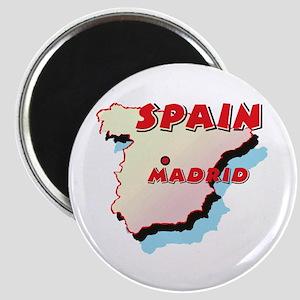 Spain Map Magnet