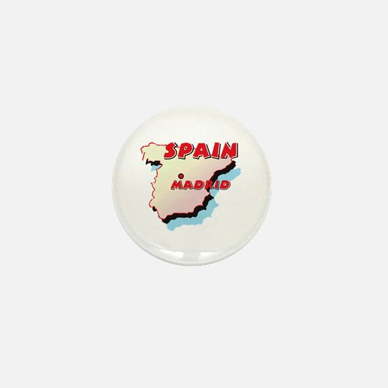 Spain Map Mini Button