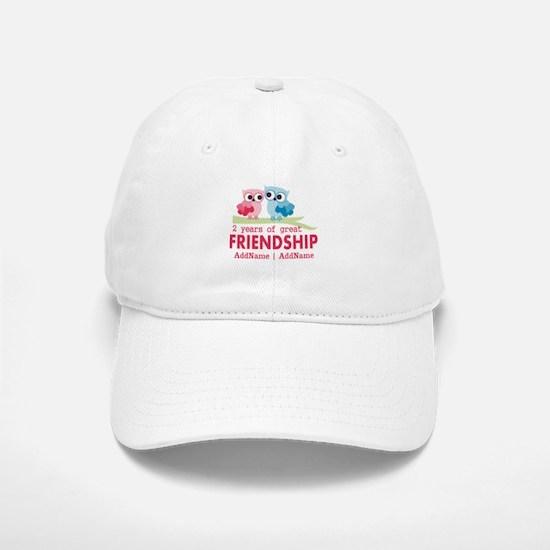 Gift For 2nd Anniversary Personalized Baseball Baseball Cap