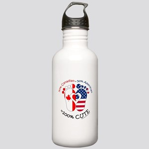 Canadian American Baby Stainless Water Bottle 1.0L