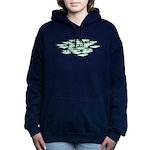 Sardines 1c Women's Hooded Sweatshirt