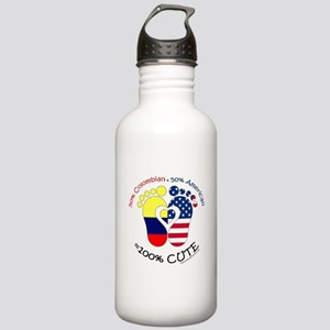 Colombian American Bab Stainless Water Bottle 1.0L