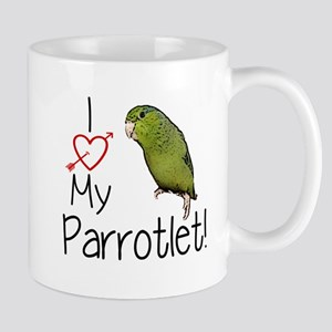 I Love My Parrotlet Mugs