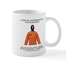 Orange Jump Suit Coffee Mug Mugs