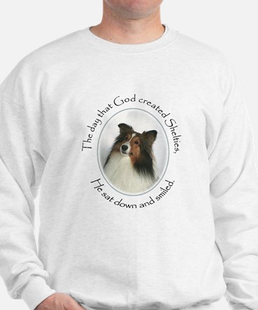Creation of Shelties #1 Sweatshirt