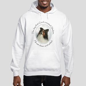 Creation of Shelties #1 Hooded Sweatshirt