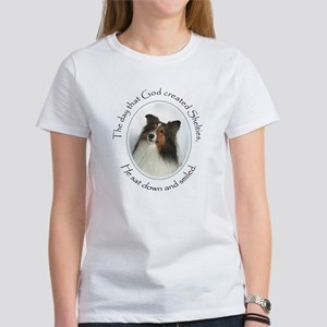 Creation of Shelties #1 Women's T-Shirt