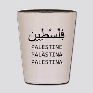 Palestine Shot Glass