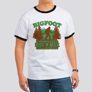 BIGFOOT Funny Saying (vintage distressed design) T