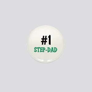 Number 1 STEP-DAD Mini Button