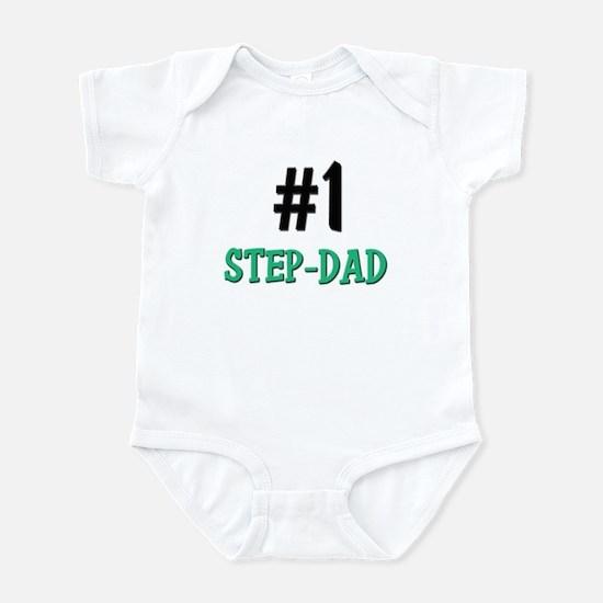 Number 1 STEP-DAD Infant Bodysuit