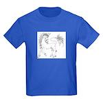 Unicornis! Kids Dark T-Shirt