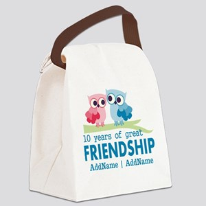 Gift For 10th Wedding Anniversary Canvas Lunch Bag