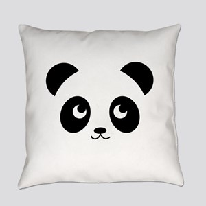 panda smile copy Everyday Pillow