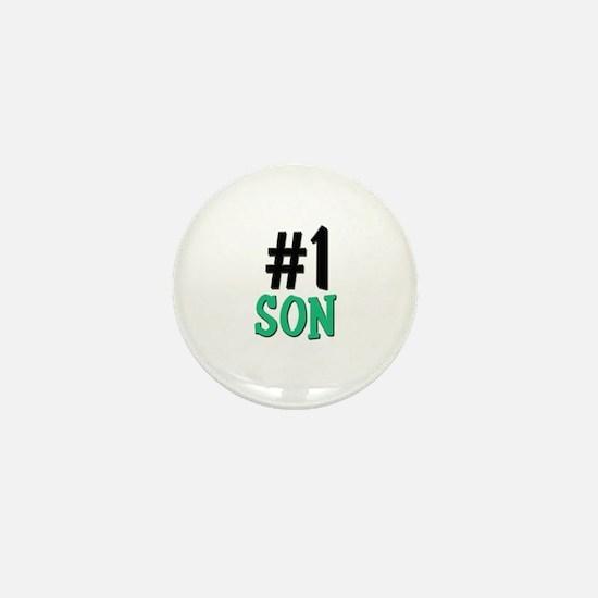 Number 1 SON Mini Button