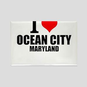 I Love Ocean City, Maryland Magnets