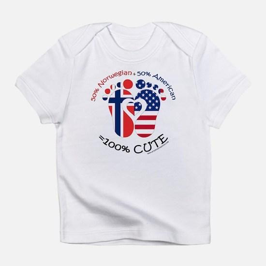 Norwegian American Baby Infant T-Shirt