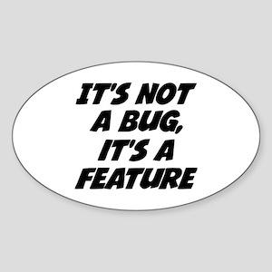 Geek Sticker (Oval)