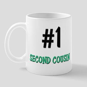 Number 1 SECOND COUSIN Mug