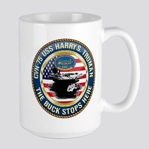 CVN-75 USS Harry S. Truman Large Mug