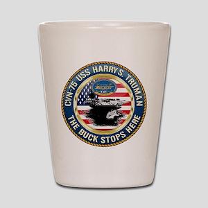 CVN-75 USS Harry S. Truman Shot Glass