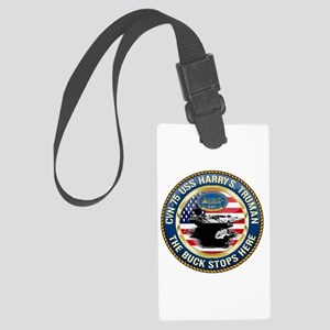 CVN-75 USS Harry S. Truman Large Luggage Tag