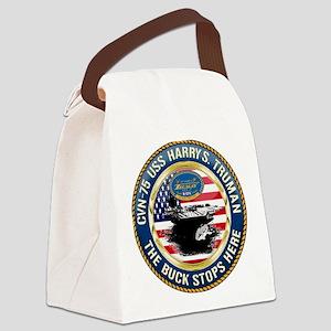 CVN-75 USS Harry S. Truman Canvas Lunch Bag
