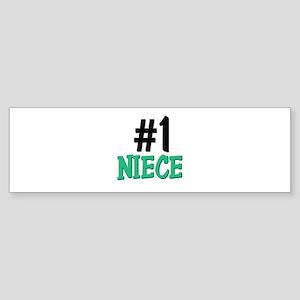 Number 1 NIECE Bumper Sticker
