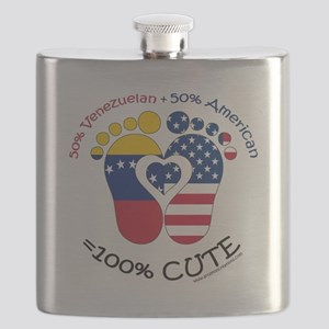Venezuelan American Baby Flask