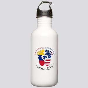 Venezuelan American Baby Water Bottle
