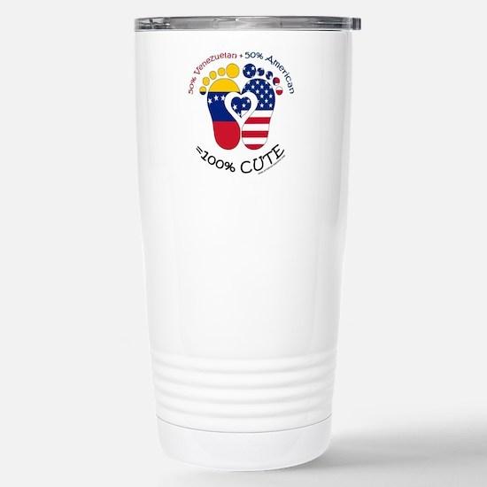 Venezuelan American Baby Travel Mug