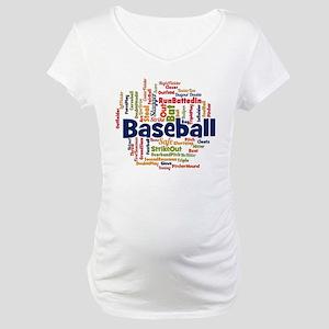 Baseball Maternity T-Shirt