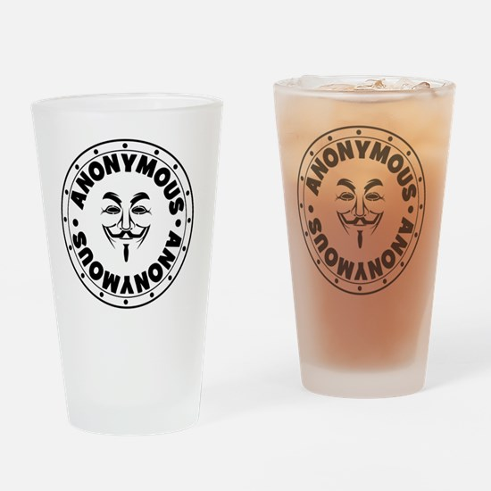 Anonymous Drinking Glass