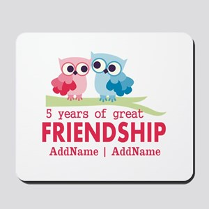 5 Years Anniversary Personalized Mousepad