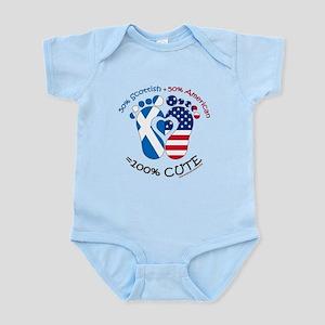 Scottish American Baby Body Suit