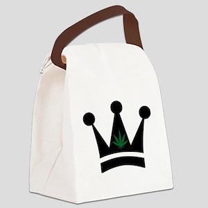 Cannabis Canvas Lunch Bag