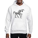 Invitation to the Unicorn Hooded Sweatshirt