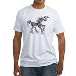 Invitation to the Unicorn Fitted T-Shirt
