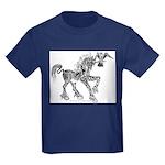 Invitation to the Unicorn Kids Dark T-Shirt