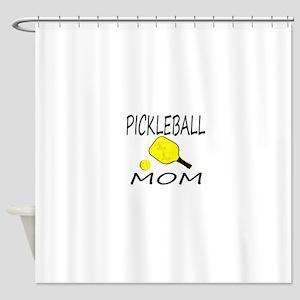 Pickleball MOM Shower Curtain