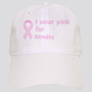 Wear pink for Kendra Cap