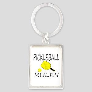 Pickleball Rules Keychains