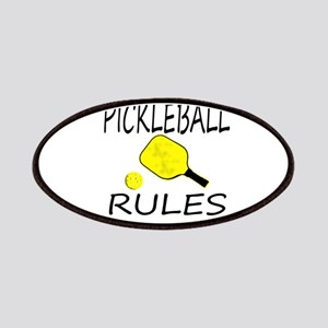 Pickleball Rules Patches