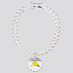 Pickleball with yellow paddle ball Bracelet