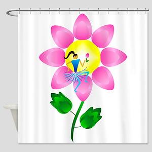 Petal Power Shower Curtain
