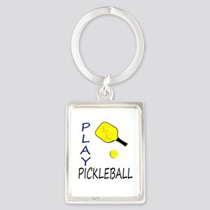 Play pickleball Keychains