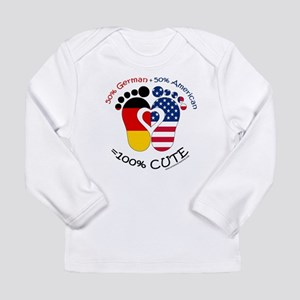 German American Baby Long Sleeve T-Shirt