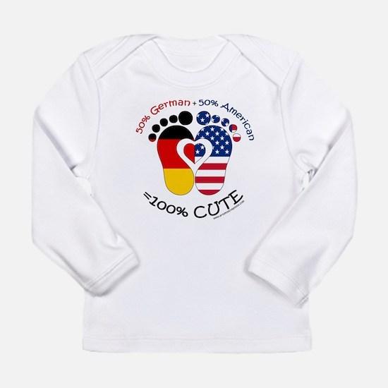 German American Baby Long Sleeve T-Shirt