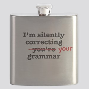 Silently correcting grammar Flask